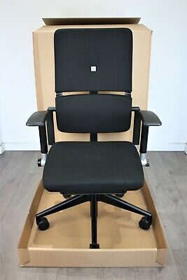UK & EU DELIVERY | Steelcase Please V2 Chairs | Black | Excellent Condition