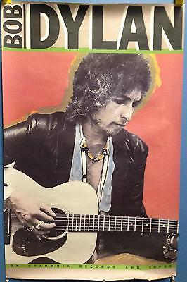 "Bob Dylan - Saved 44""x28"" In Store Promo 1980 Poster 36553 Original"
