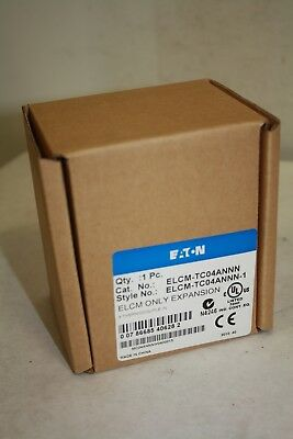 Eaton Elcm-tc04annn Programmable Controller 4 Thermocouple In