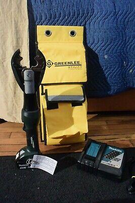 Greenlee Hydraulic 18v Li-ion Battery Crimper Model Ek425lx Bg D3 Jaw