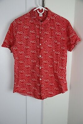 Coca-Cola Collection by Unique Vintage Dress Short Sleeve XL/14 Red