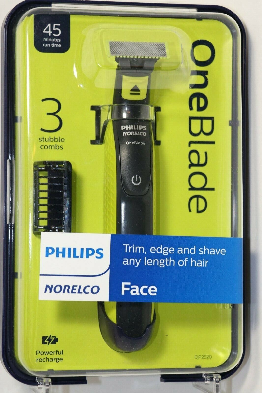 Philips Norelco Oneblade ONE BLADE Hybrid Electric Trimmer S