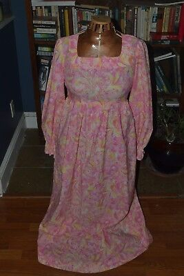 Clothes From The 70s (Homemade Pink & Yellow Easter Dress from the 70's)