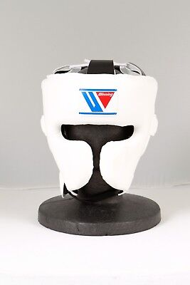 Winning FG-2900 Headgear Face guard Type  Size:Medium, color: White