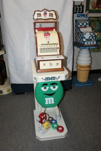 National Cash Register Model 711 Customized M&M theme with stand