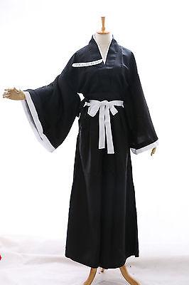B-01 Bleach Shinigami Ichigo Rukia Renji Kendo Kimono Cosplay Kostüm (Bleach Cosplay Kostüm)