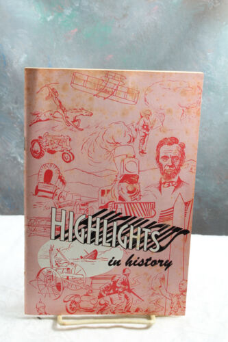1952 Minneapolis Moline Historical Booklet 1825 - 1952 45 Page Illustrated