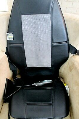 Homedics SBM-200 Therapist Select Shiatsu Back Massager Chair Cushion EUC Works!