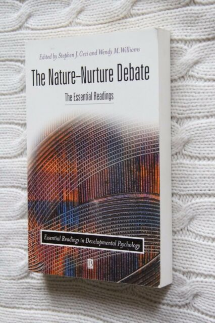 The Nature/Nurture Debate: the Essential Readings by John Wiley and Sons, New