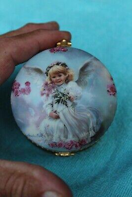 Ardleigh Elliott Saturday Child The Precious Child Heirloom Porcelain Music Box