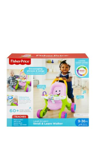 Fisher-Price FNV35 Stroll and Learn Walker - Pink