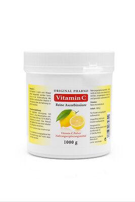 Vitamin C Pulver - Reine Ascorbinsäure - Apotheken Qualität 1Kg