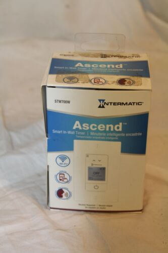 Ascend Intermatic Smart In-Wall Timer STW700W Light Control