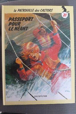 BD patrouille des castors n°21 passeport pour le néant cartonné 1987 TBE mitacq