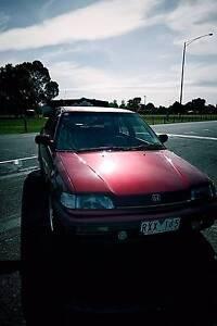 1990 Honda Civic GL ED Sedan for Sale South Yarra Stonnington Area Preview