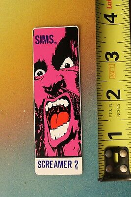 Santa Cruz Christmas Sticker .Skateboard
