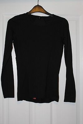 Gore Bike Wear Womens Base layer Long Sleeve Shirt Black Size Small, used for sale  Shipping to South Africa