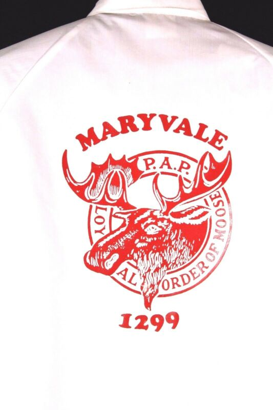 Loyal Order of Moose PAP Lodge Windbreaker Jacket Size XXL Maryvale AZ 1299