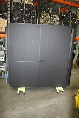 Lot Of 7 Kinetic Laser Containment System 1 Door With Window Welding Screen