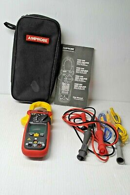 Amprobe Amp-310 True Rms Hvac Ac Clamp With Motor Testing Excellent Condition