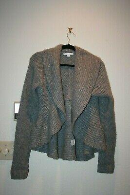 Duffy Baby Alpaca Knit Sweater Merino Alpaca Blend L Large EUC   Baby Alpaca Blend