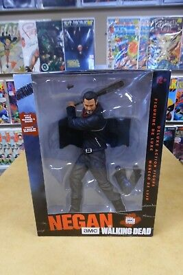 Mcfarlane Toys 10  Amc Tv Walking Dead Negan Deluxe Action Figure Nip 2017