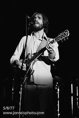 Bob Weir photo from Cornell 77;  5/8/77;14x21; Grateful Dead;.