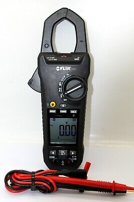 Flir Cm83 600a Acdc True Rms Power Clamp Vfd Meterlink Free Shipping - Usa
