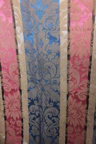 French Vintage c1930s Jacquard Woven Home Dec Frame Emberline Fabric