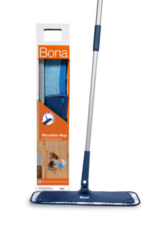 Bona Microfiber Mop for Multi-Surface Floors Includes Microfiber Cleaning Pad