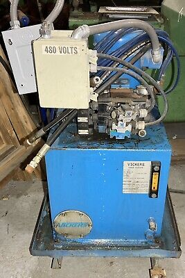 Vickers Power Systems Hydraulic Pump 5hp 30 Gal