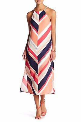 Lace Shift - LAUNDRY BY SHELLI SEGAL Lace-up Back Shift Maxi Petite Dress NEW 10 PETITE