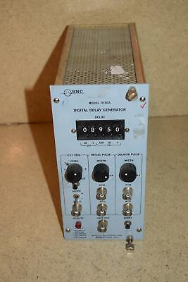 Bnc Berkeley Nucleonics Corp Model 7030a Digital Delay Generator Tp124
