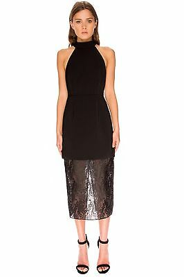 NWT Keepsake Australian Fashion Label Sundream Cocktail/Formal Lace Dress Size S