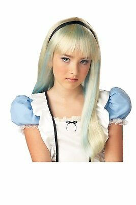 Alice in Wonderland Child Costume Wig