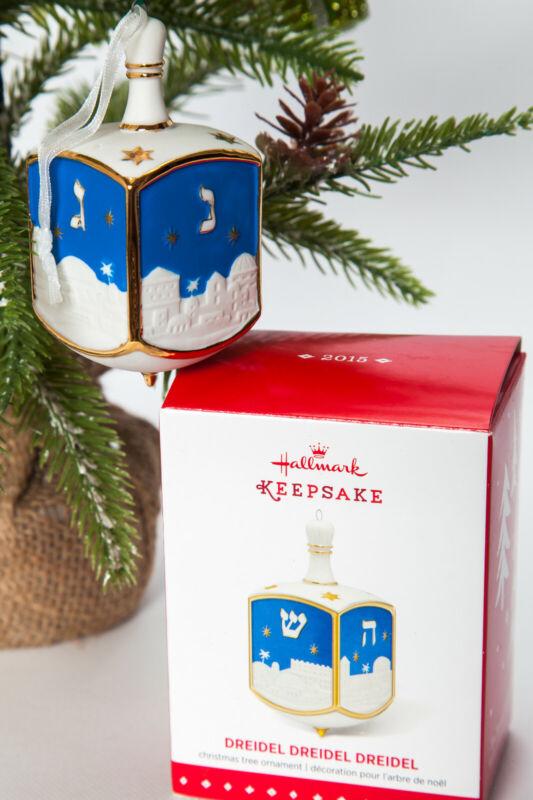 Hallmark Keepsake Ornament 2015 Dreidel Dreidel Dreidel