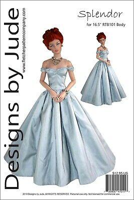 Splendor Dress Pattern for 16.5