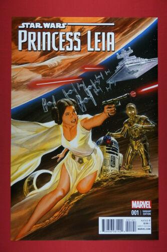 Star Wars Princess Leia R2D2 Marvel Comic #1 Variant Edition Poster 24X36  SWPL