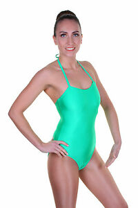 Lycra-Leotard-Camisole-Plain-Front-Ballet-Colours-KATE