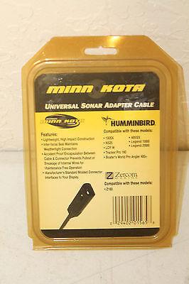 Minn Kota MKR-US-4 Universal Sonar Adapter Cable for HUMMINBIRD & ZERCOM New Minn Kota Universal Sonar Adapter