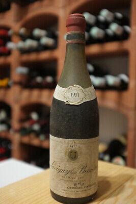 Savigny Les Beaune 1971 Georges Vasseur Rotwein 1 Flasche original