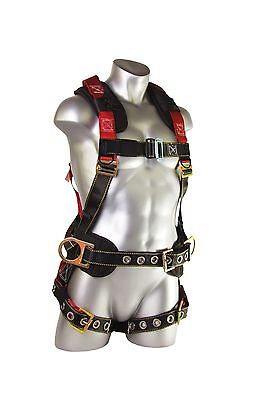 Guardian Fall Protection Seraph Construction Harness Padded Backside D-rings