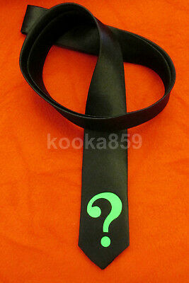 RIDDLER inspired COSTUME TIE 2