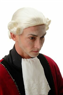 Perücke Qualitätsperücke Herren Theater Barock Lord Edelmann Adliger - Herren Edelmann Perücke