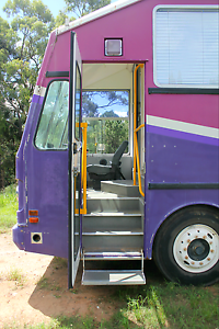 Four single wheeled bus Bundall Gold Coast City Preview