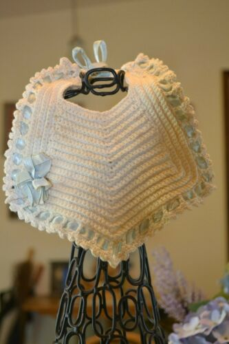 CROCHETED BABY BIB