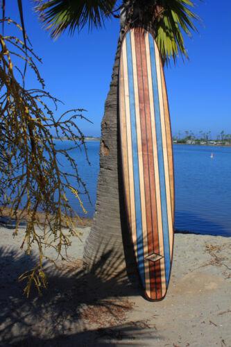 Wood Surfboard Art Bar Top Vintage Hawaiian Tiki Bar Surf Decor