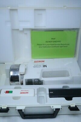 Biotest Hycon Rcs Plus Air Sampler 940310 7.2v 6w W Case Remote Manual Battery
