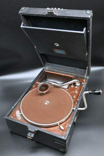 Electrola Portable Gramophone - German, 1930-1935, No.4  koffergramophon