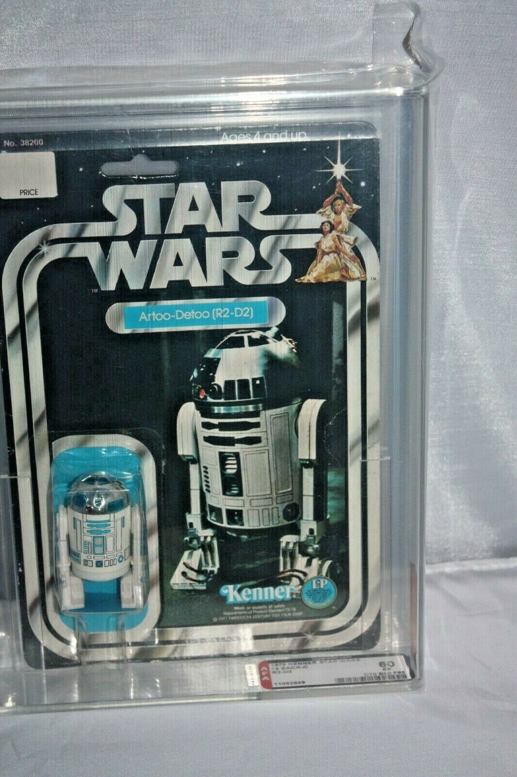 Vintage Star Wars Action Figure R2D2 with Launching Lightsaber Star Wars Figures 1990s Kenner Star Wars Gift